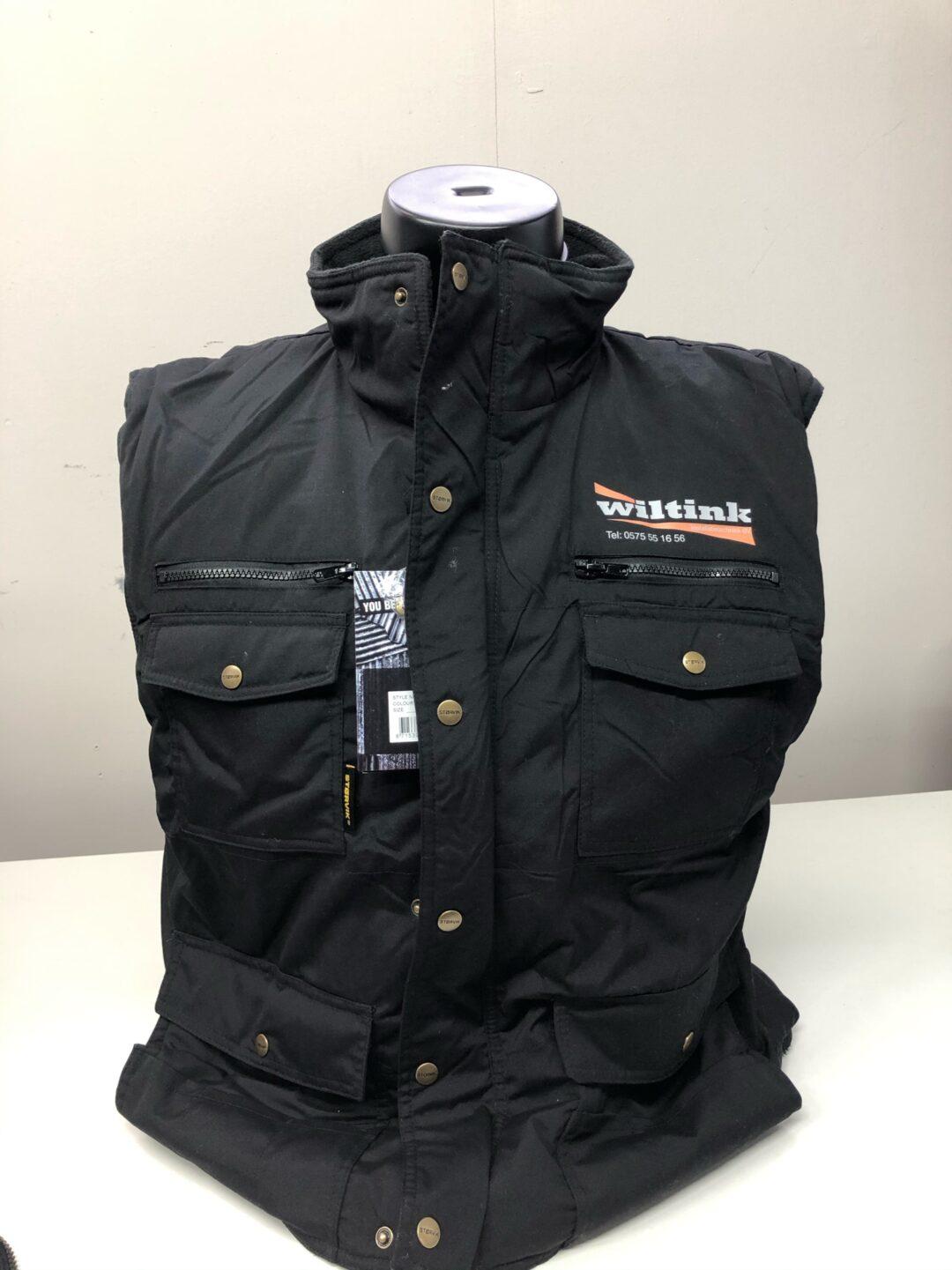 Signaal Bedrijfskleding // Wiltink // Bodywarmers voorzien van een borstlogo