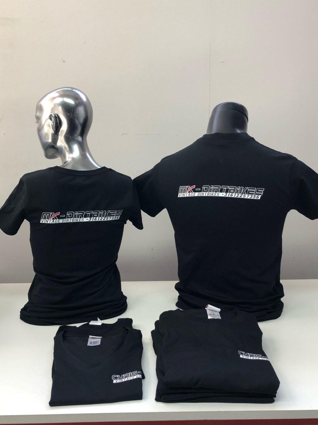 Signaal Bedrijfskleding // MX-Dirtbikes & Chris-MX // Diverse kleding voorzien van Full Colour borst- en ruglogos