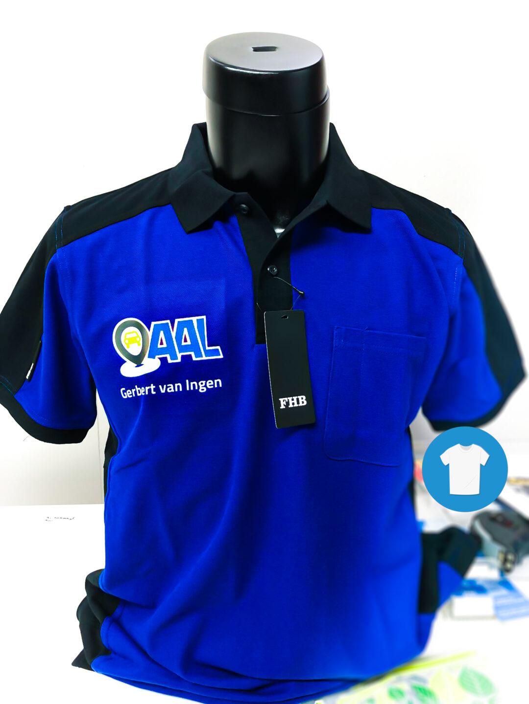 Signaal Bedrijfskleding // Autobedrijf Aal // Bedrukken van Poloshirts en andere werkkleding