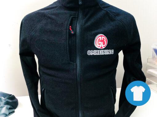 Signaal Bedrijfskleding // GB Omheining // Werkkleding bedrukt, waaronder Poloshirts, T-Shirts, Softshell jassen en vesten