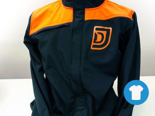 Signaal Bedrijfskleding // De Jonge // Werkkleding bedrukt met door ons ontworpen beeldmerk en logo