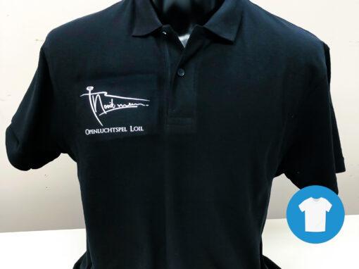 Signaal Bedrijfskleding // Openluchtspel Loil // Bedrukken van blouses en poloshirts