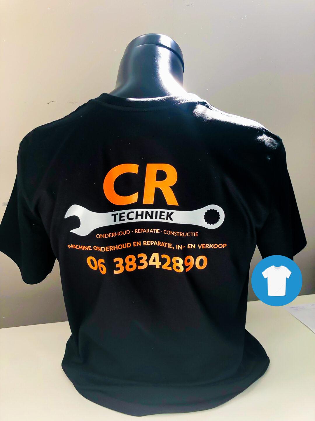 Signaal Bedrijfskleding // CR Techniek // Werkkleding bedrukt