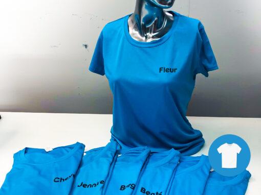 Signaal Bedrijfskleding // WIK Steenderen // T-Shirt bedrukt met namen
