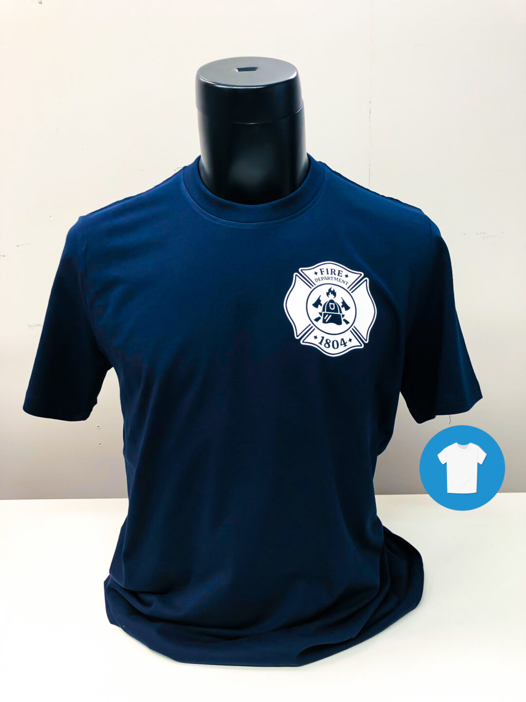 Signaal Bedrijfskleding // Brandweer Steenderen // T-Shirts bedrukt met een door ons ontworpen beeldmerk