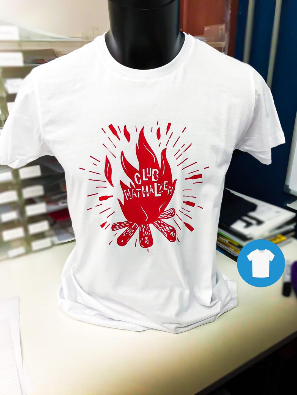 Signaal Bedrijfskleding // Nathals // Bedrukken van T-Shirts speciaal voor 'Club Nathalzen'