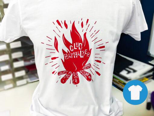 Signaal Bedrijfskleding // Nathals // Bedrukken van T-Shirts speciaals voor 'Club Nathalzen'